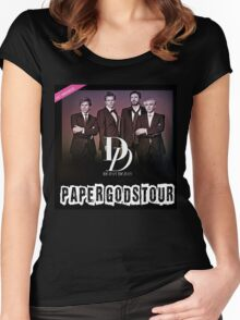 Duran Duran Paper Gods a Women's Fitted Scoop T-Shirt