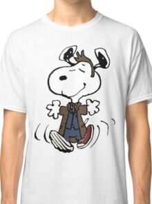 Snoopy as the 10th Doctor Classic T-Shirt