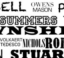 Telecaster Rock & Roll Sticker