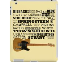 Telecaster Rock & Roll iPad Case/Skin