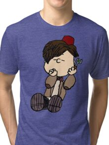 Linus as the 11th Doctor Tri-blend T-Shirt