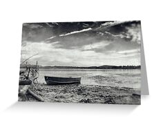 Fishing Vessel Greeting Card