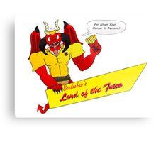 Beelzebub's Lord of the Fries Metal Print