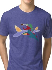 The Fabulous Fire Ferrets  Tri-blend T-Shirt