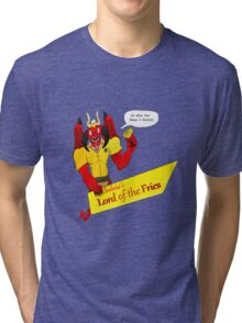Beelzebub's Lord of the Fries Tri-blend T-Shirt