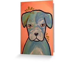 Pitbull Love! Greeting Card