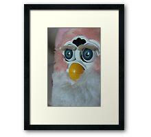 When Will My Husband Return From War Furby  Framed Print
