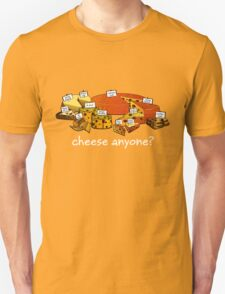 Starcraft Cheese - white text T-Shirt