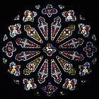 Rose Window, Bodelwyddan by Yampimon