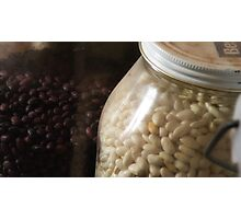 Bottle of Beans Photographic Print