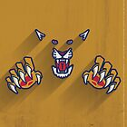 Florida Panthers Minimalist Print by SomebodyApparel