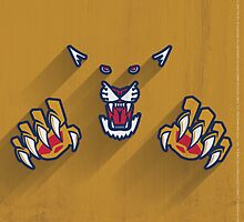 Florida Panthers Minimalistic Print by SomebodyApparel