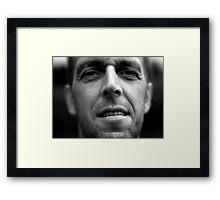 Self. Framed Print