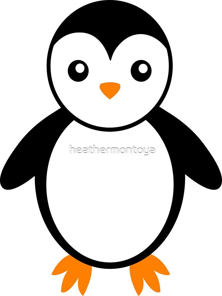 penguin by heathermontoya