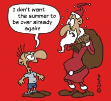 Cartoon: Santa Claus, Saint Nicholas, Father Christmas (1C) Kids Clothes