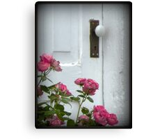 Garden Door Canvas Print