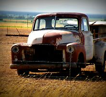 Old truck by snuggie2u