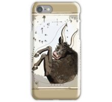 TAURUS the BULL Star Cluster Map iPhone Case/Skin