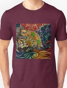 Black Sails and Mandala Skies Unisex T-Shirt