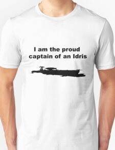 I am the proud captain of an Idris T-Shirt