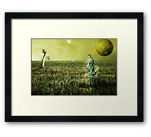Gaia - The New World Framed Print