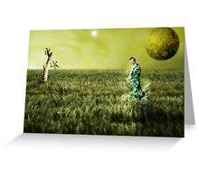 Gaia - The New World Greeting Card