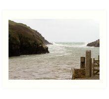 Port Quin in Cornwall Art Print