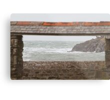 Port Quin in Cornwall Metal Print