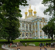 Catherine Palace in Tsarskoye Selo  by olegkuzmin