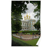 Catherine Palace in Tsarskoye Selo  Poster