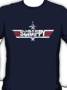 Custom Top Gun Style Style - Scrappy T-Shirt