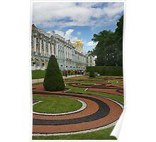 Catherine Palace in Tsarskoye Selo, StPetersburg Poster