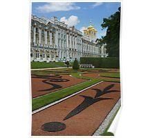 Catherine Palace in Tsarskoye Selo, near StPetersburg Poster