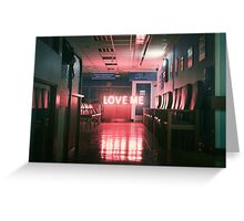 // LOVE ME // Greeting Card
