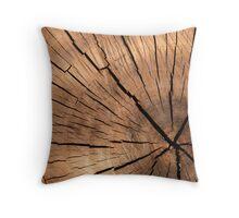 Very Elegant Wooden Texture Throw Pillow
