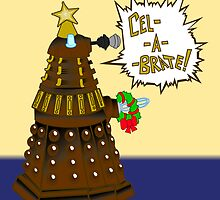 Dalek Holiday  by SpiralArtistry