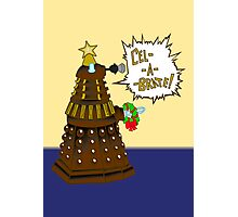 Dalek Holiday  Photographic Print