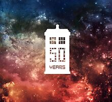 50 Years TARDIS by NatalieMirosch