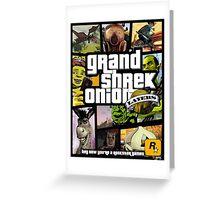 Grand Shrek Onion PRINTS Greeting Card