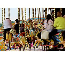 Fairground Ride Photographic Print