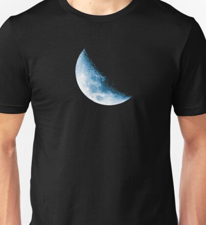 Almost Half Blue Moon 45 Unisex T-Shirt