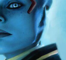 Mass Effect- Samara Sticker