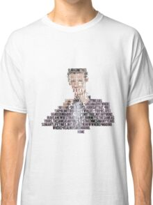 11th Doctor Home - 50th Anniversary Doctor Who Classic T-Shirt