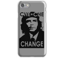 CHE CHE CHANGE: BLACK AND WHITE iPhone Case/Skin