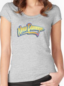 ND 80s Time Traveller (grunge) Women's Fitted Scoop T-Shirt