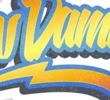 ND 80s Time Traveller (grunge) Sticker