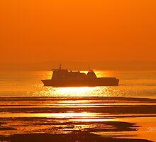 Commodore Clipper Sunrise by Jonathan Cox