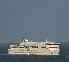 Brittany Ferries Pont Aven by Jonathan Cox