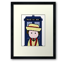 The 7th doctor Framed Print