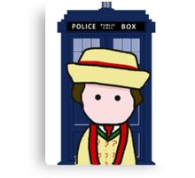 The 7th doctor Canvas Print